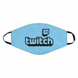 Маска для обличчя Twitch logotip