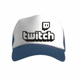 Дитяча кепка-тракер Twitch logotip