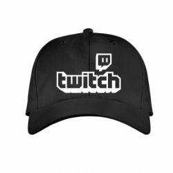 Дитяча кепка Twitch logotip