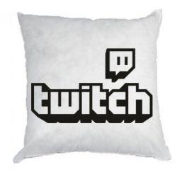 Подушка Twitch logotip
