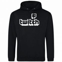 Чоловіча толстовка Twitch logotip