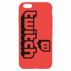 Чохол для iPhone 6/6S Twitch logotip