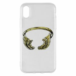 Чохол для iPhone X/Xs Two Golden Wings