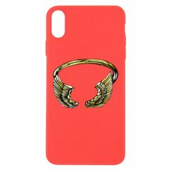 Чохол для iPhone Xs Max Two Golden Wings