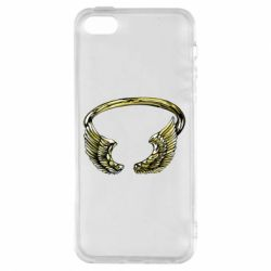 Чохол для iphone 5/5S/SE Two Golden Wings