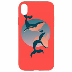 Чехол для iPhone XR Two whales - FatLine