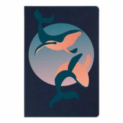 Блокнот А5 Two whales