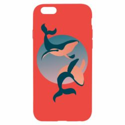 Чехол для iPhone 6/6S Two whales - FatLine