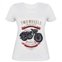 Жіноча футболка Two Wheels Forever 1930