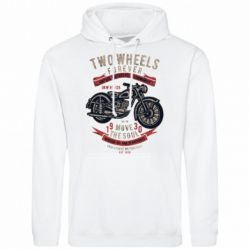 Чоловіча толстовка Two Wheels Forever 1930