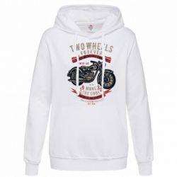 Толстовка жіноча Two Wheels Forever 1930