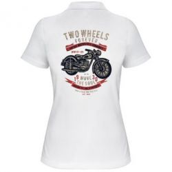Жіноча футболка поло Two Wheels Forever 1930