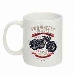 Кружка 320ml Two Wheels Forever 1930
