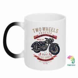 Кружка-хамелеон Two Wheels Forever 1930