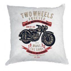 Подушка Two Wheels Forever 1930