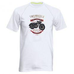 Чоловіча спортивна футболка Two Wheels Forever 1930