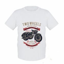 Дитяча футболка Two Wheels Forever 1930