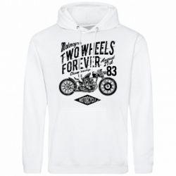 Чоловіча толстовка Two Wheels Forever