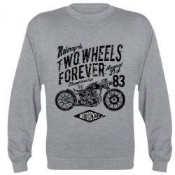 Реглан (світшот) Two Wheels Forever