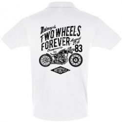 Футболка Поло Two Wheels Forever