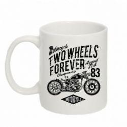 Кружка 320ml Two Wheels Forever