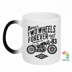 Кружка-хамелеон Two Wheels Forever