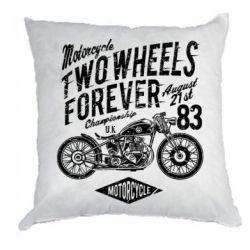Подушка Two Wheels Forever