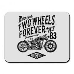 Килимок для миші Two Wheels Forever