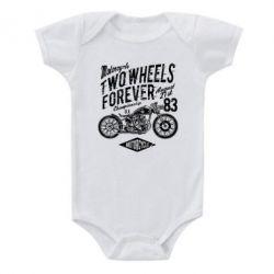 Дитячий бодік Two Wheels Forever