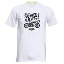 Чоловіча спортивна футболка Two Wheels Forever