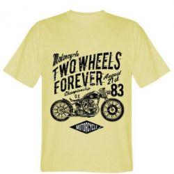 Чоловіча футболка Two Wheels Forever