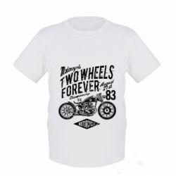 Дитяча футболка Two Wheels Forever