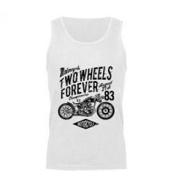 Майка чоловіча Two Wheels Forever