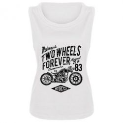 Майка жіноча Two Wheels Forever
