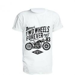 Подовжена футболка Two Wheels Forever