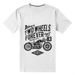 Чоловіча стрейчева футболка Two Wheels Forever