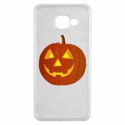 Чохол для Samsung A3 2016 Тыква Halloween