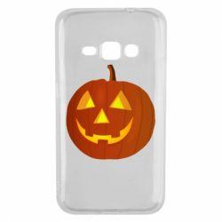 Чохол для Samsung J1 2016 Тыква Halloween