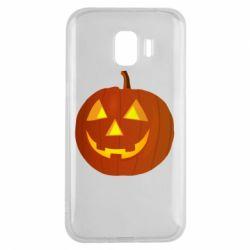 Чохол для Samsung J2 2018 Тыква Halloween