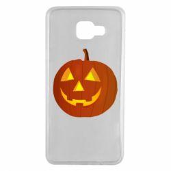 Чохол для Samsung A7 2016 Тыква Halloween