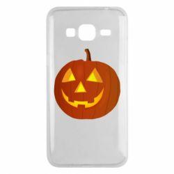 Чохол для Samsung J3 2016 Тыква Halloween