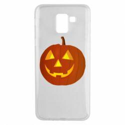 Чохол для Samsung J6 Тыква Halloween