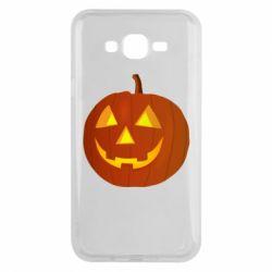 Чохол для Samsung J7 2015 Тыква Halloween