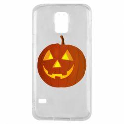 Чохол для Samsung S5 Тыква Halloween