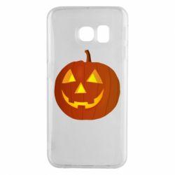 Чохол для Samsung S6 EDGE Тыква Halloween