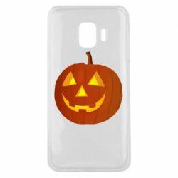 Чохол для Samsung J2 Core Тыква Halloween