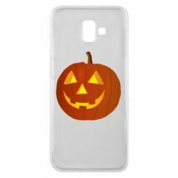 Чохол для Samsung J6 Plus 2018 Тыква Halloween