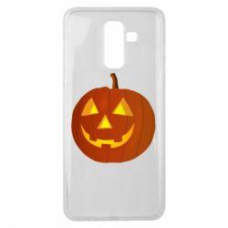 Чохол для Samsung J8 2018 Тыква Halloween
