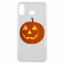 Чохол для Samsung A6s Тыква Halloween