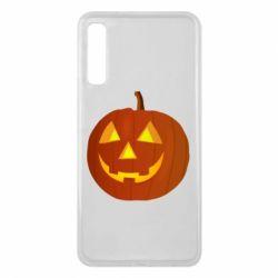 Чохол для Samsung A7 2018 Тыква Halloween